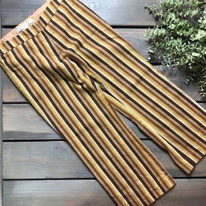 Trina Turk striped crop pants